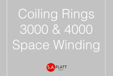 COILING RINGS:3000 & 4000:SPACE WINDING
